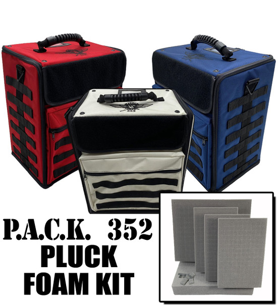 (352) P.A.C.K. 352 Molle Pluck Foam Load Out