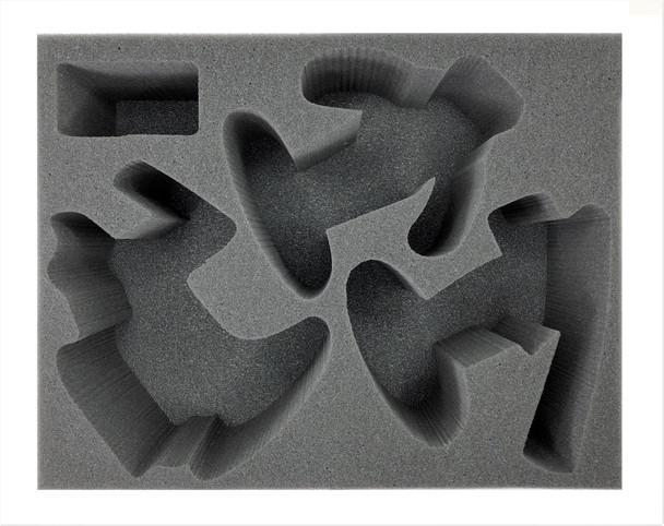 Sons of Behemat 1 Kraken-Eater 1 Warstomper 1 Gatebreaker Laying Foam Tray (BFL-5)