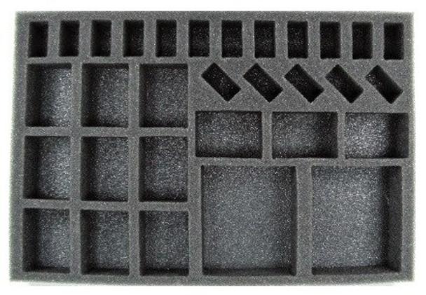 Dystopian Wars Armoured Battle Group Foam Tray (BFS)