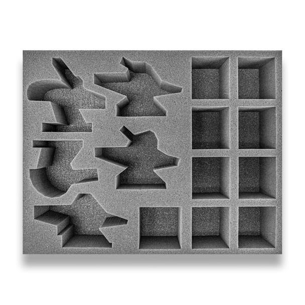Age of Sigmar Hedonites of Slaanesh 5 Slickblade/Blissbarb Seeker 9 Slaangor Fiendbloods Foam Tray (BFL-2.5)