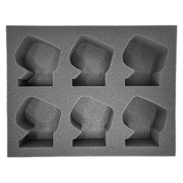 (Ork) 6 Deffkoptas Foam Tray (BFL)