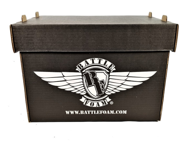 Battle Foam Large Stacker Box Empty (Black)