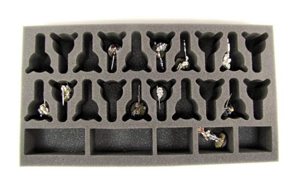 (Gen) Long Weapons or Halberds Foam Tray (PP-2)