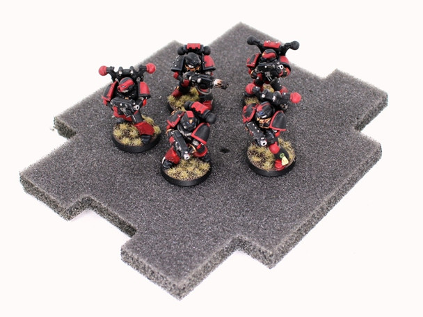 Necron Monolith Destroyed Vehicle Markers
