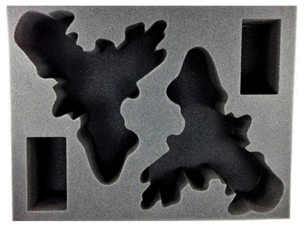 (High Elves) 2 Phoenix Foam Tray (BFL-3.5)