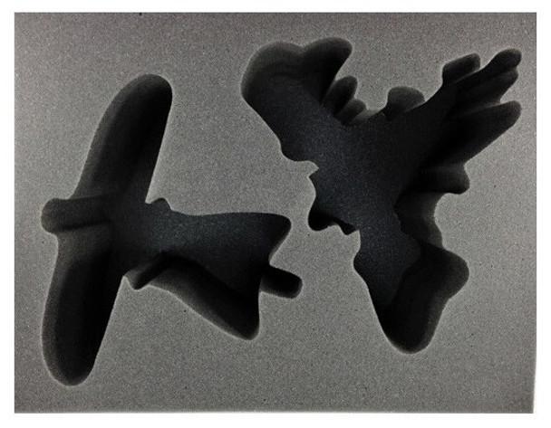(High Elves) 1 Skycutter 1 Phoenix Foam Tray (BFL-6.5)