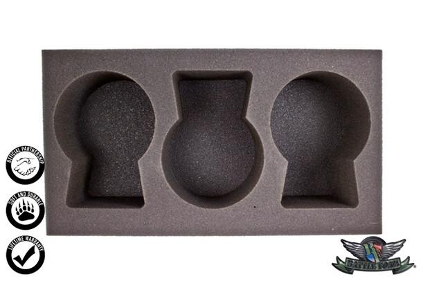 (Warrior Nation) 3 Great Elk Foam Tray (WWX-4)