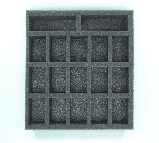 Battle Foam 'D-Box' with Standard Load Out (Black)