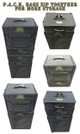 (720) P.A.C.K. 720 Molle Half Tray Custom Load Out (Black)