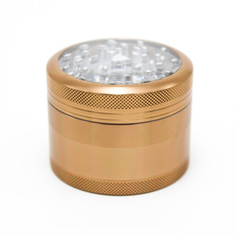 SharpStone® Clear Top 4 Piece Herb Grinder - 2.5""