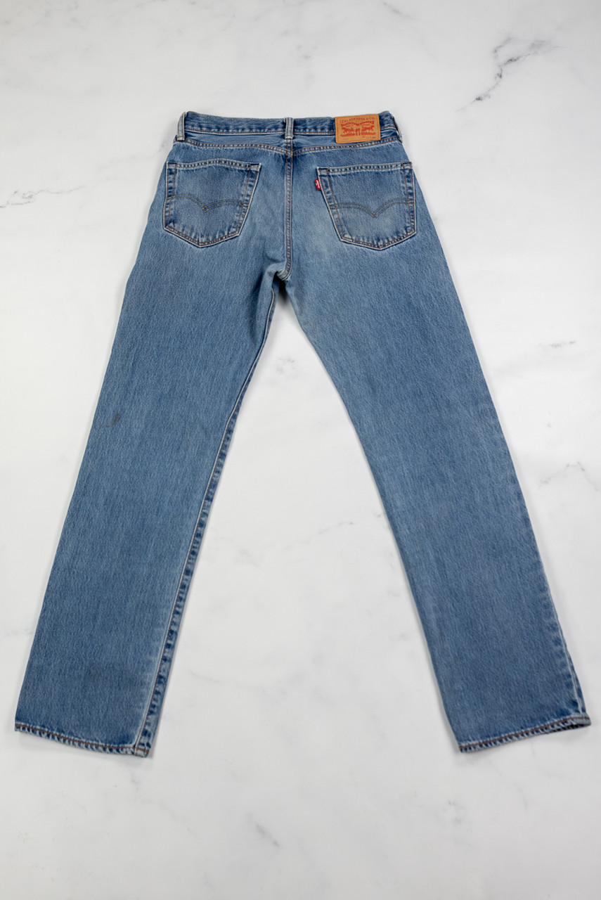 Reworked Vintage Levi Strauss Denim Jeans