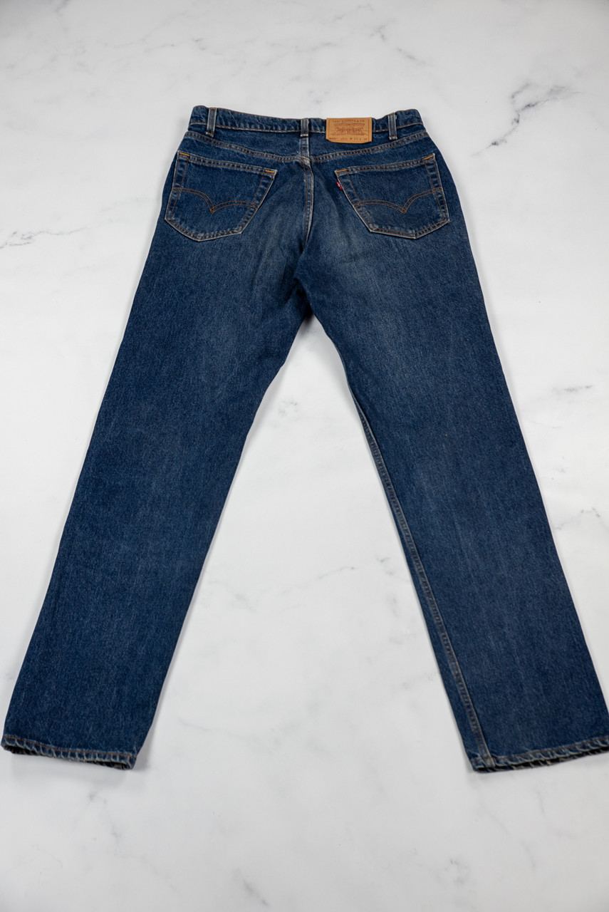 Reworked Vintage Levi Strauss Denim Cloud Jeans