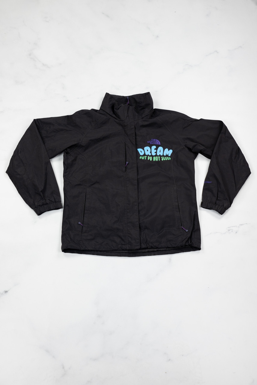 Reworked Vintage The North Face Freedom Printed Jacket