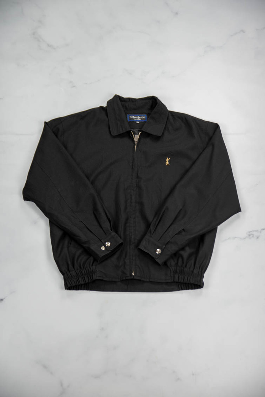 Reworked Vintage YSL Lightweight Jacket with Dragon Embroidery