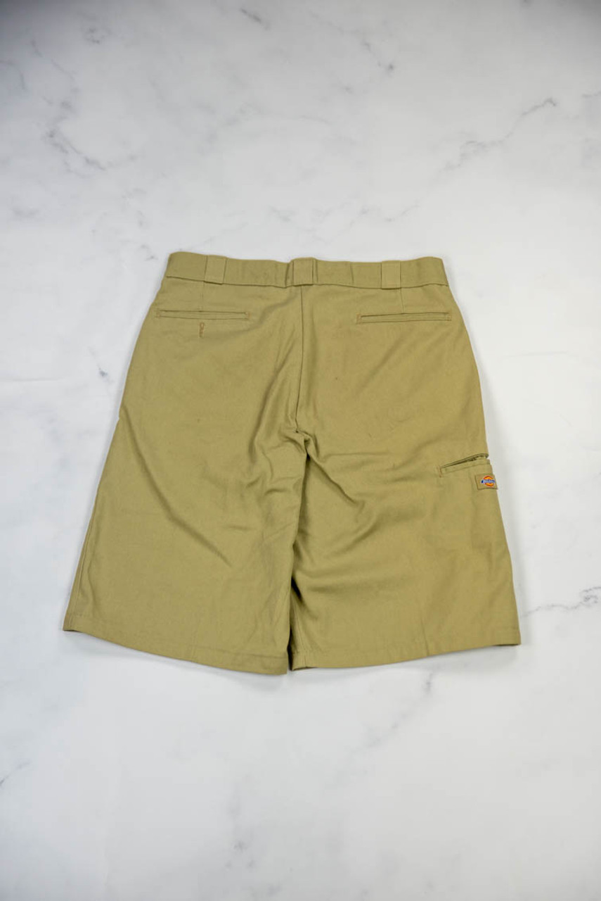 Reworked Vintage Dickies Shorts with Globe