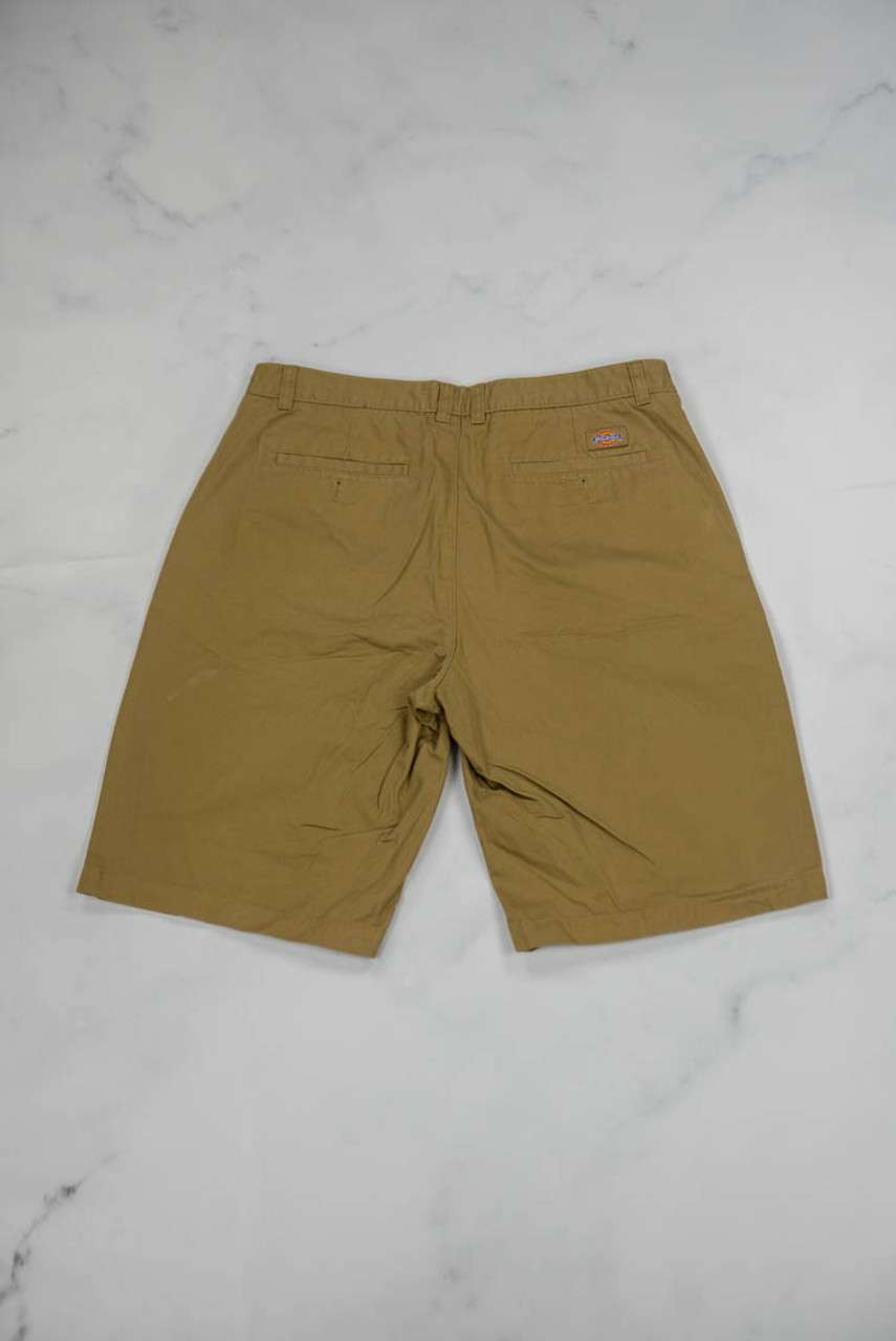 Reworked Vintage Dickies Shorts with Green Freedom