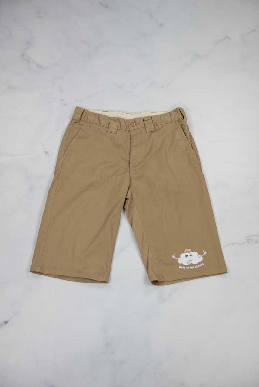 Reworked Vintage Dickies Shorts with Head in the Clouds Logo