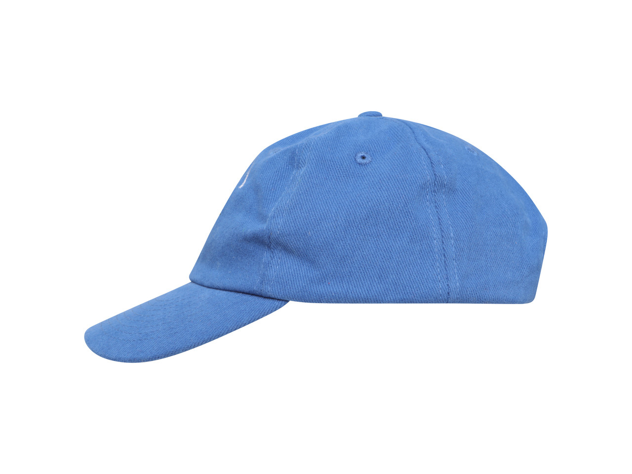 Royal Blue Cap With Paradise Island Parrot Embroidery