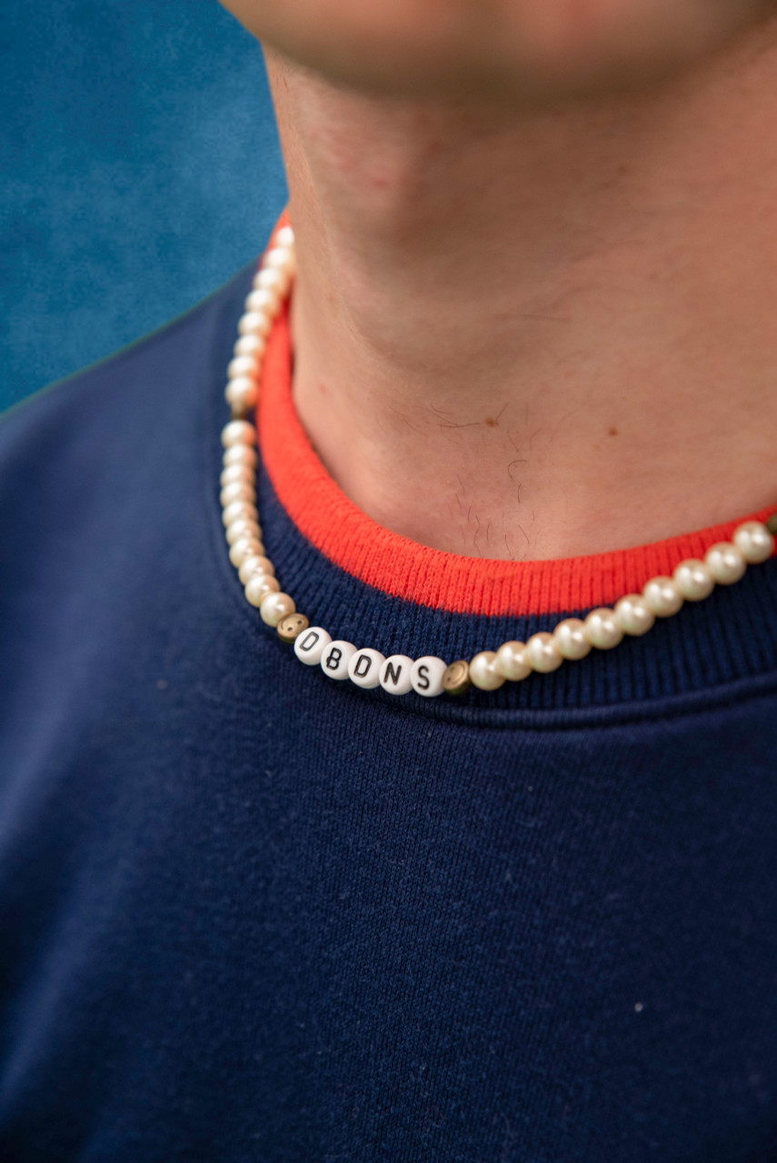 Pearl Beaded Unisex DBDNS Necklace