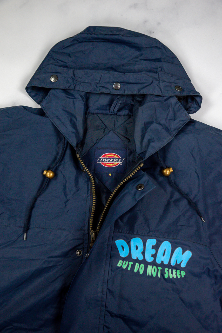 Reworked Vintage Dickies Navy Rain Coat
