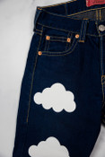 Reworked Vintage Levi Strauss Dark Denim Womens