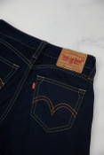 Reworked Vintage Levi Strauss Dark Denim Jeans Womens