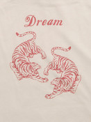 Chinese Tiger Design On Sand Hoodie