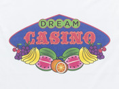 Fruity Casino Slots Design On White Hoodie