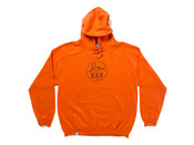 Adults Only' Design On Orange Hoodie