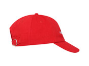 Red Cap With Dream Globe Embroidery