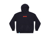 Black Hoodie With Embroidered DBDNS Logo