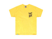 Daisy Yellow Ups and Downs Smiles and Frowns T-shirt