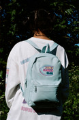 Blue Mini Backpack With Super Soaker Embroidery