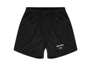 Black Shorts With Dream Sport Embroidered Logo