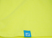 Neon Green T-shirt With Strictly Positive Vibes Print