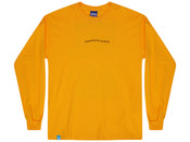 Gold Long Sleeved T-shirt  With Dream In Infrared Print