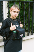 Black Body Chest Rig Bag with DBDNS Embroidery