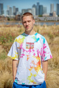 Tie Dye White Get your Boogie On Tshirt