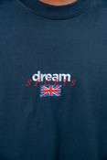 Navy T-shirt With Dream Sport Embroidered Logo