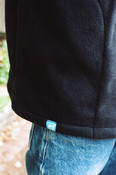 Fleece In Black With Dream Sport Embroidery