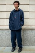 Fleece In Navy With Bro Shroom Embroidery