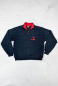 Reworked Vintage Nike Navy Quarter Zip