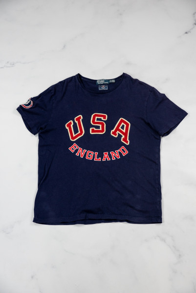 Reworked Vintage Ralph Lauren T-Shirt