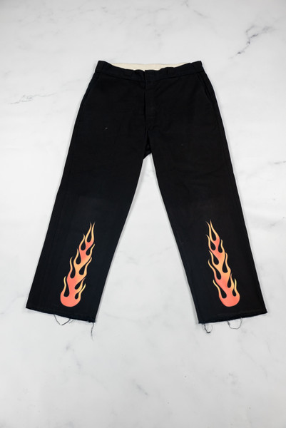 Reworked Vintage Dickies Flame Trousers