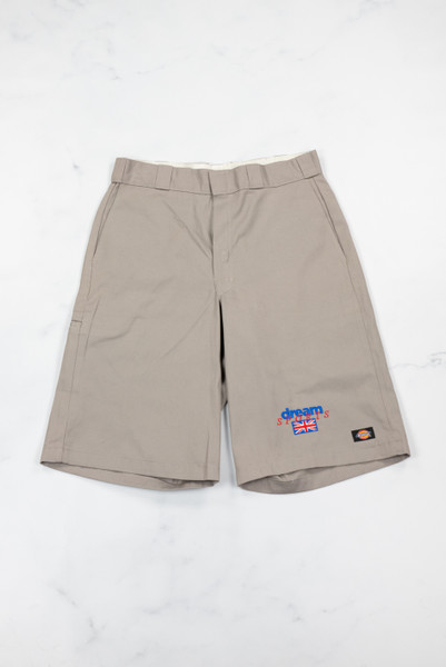 Reworked Vintage Grey Dickies Embroidered Shorts