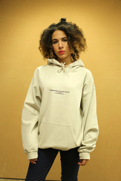 UK Born Worldwide Worn Design On Sand Hoodie