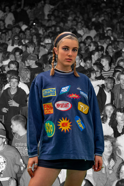 Vintage Reworked All Over Adidas Sweatshirt