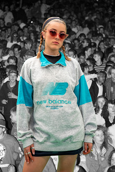 Vintage Reworked New Balance Quarter Zip