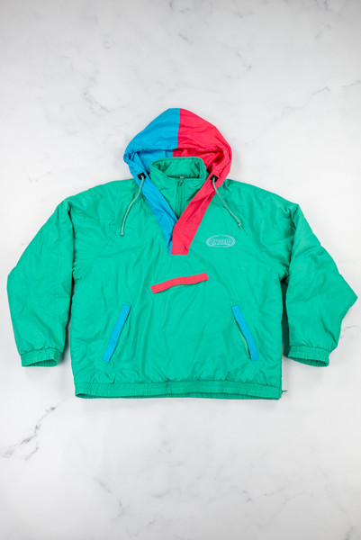 Vintage Green Reworked Ski Jacket