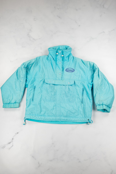 Vintage Reworked Blue Ski Jacket